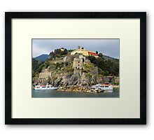 All About Italy. Piece 11 - Monterosso Framed Print