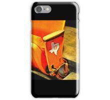 Houston Texas Astrodome Baseball Stadium Seat 101 Row 13 iPhone Case/Skin