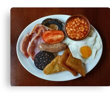 Full English Canvas Print