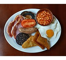 Full English Photographic Print