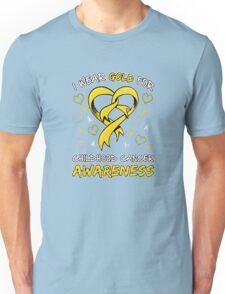 Childhood Cancer Awareness Unisex T-Shirt