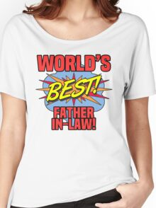 World's Best Father-In-Law Women's Relaxed Fit T-Shirt