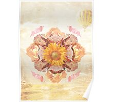 Flower Collage Poster