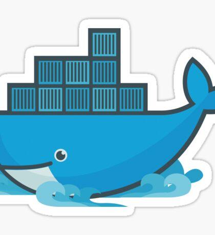 Docker Moby Whale Sticker