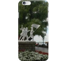 early time walk along iPhone Case/Skin