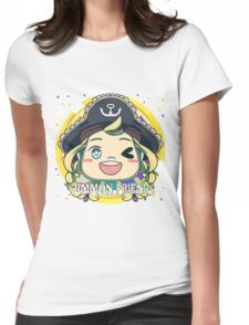 Summon Friends! Womens Fitted T-Shirt