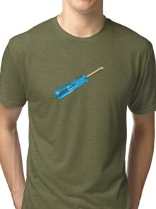 Legendary Blue Screwdriver Tri-blend T-Shirt