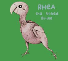 Rhea the Naked Birdie One Piece - Short Sleeve