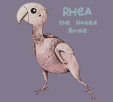 Rhea the Naked Birdie Kids Tee