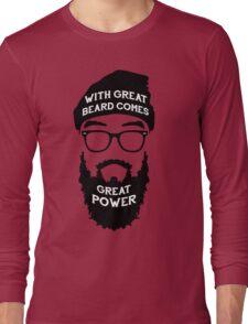 Beard Power! Long Sleeve T-Shirt