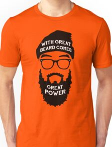 Beard Power! Unisex T-Shirt