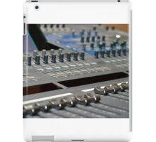 Mixing Console iPad Case/Skin