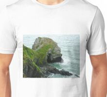 Llangrannog rock face Unisex T-Shirt