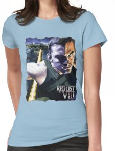 Masquerade Art: Red List - VIII: Germaine Womens Fitted T-Shirt