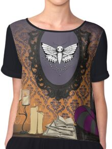 Halloween Every Day Chiffon Top