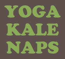 yoga kale naps One Piece - Short Sleeve
