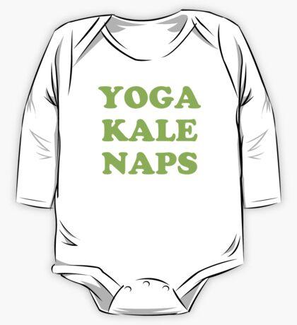 yoga kale naps One Piece - Long Sleeve