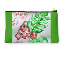 tropical greens  Studio Pouch