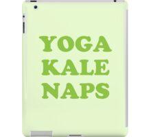yoga kale naps iPad Case/Skin
