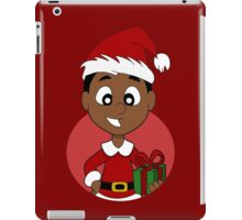 Christmas boy cartoon iPad Case/Skin