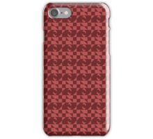 Red Eyed Checkers  iPhone Case/Skin