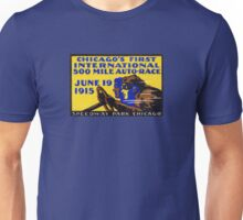 1915 Chicago Auto Race Unisex T-Shirt