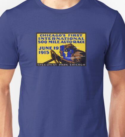 1915 Chicago Auto Race Unisex T-Shirt