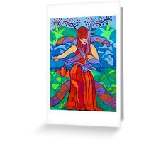 Erhu: Two Strings Greeting Card