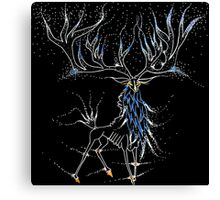 The Skeletal Stag Patronus Canvas Print