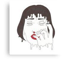Acid Trip Mia Wallace Canvas Print
