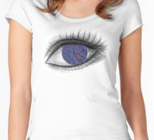 Eye With Heart Women's Fitted Scoop T-Shirt