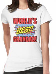 World's Best Grandad Womens Fitted T-Shirt