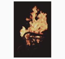 Flames Baby Tee