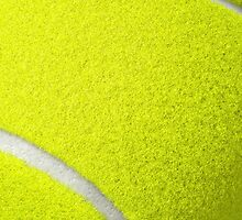 Tennis Ball Cover by cruppiter