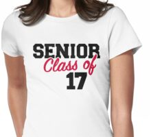 Senior Class of 2017 Womens Fitted T-Shirt