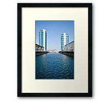 Tower Blocks Framed Print