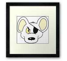 Danger Mouse - He's the greatest! Framed Print