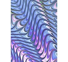 Abstract Waves Photographic Print