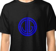 The Great Gatsby Monogram- Blue Classic T-Shirt