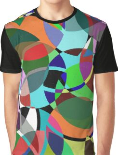 Pastel Pieces II Graphic T-Shirt