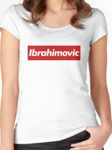 Ibrahimovic - Supreme Style Women's Fitted Scoop T-Shirt