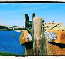 Prow of a boat by PeterWhy