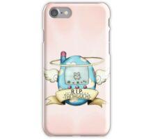 R.I.P Tamagotchi iPhone Case/Skin