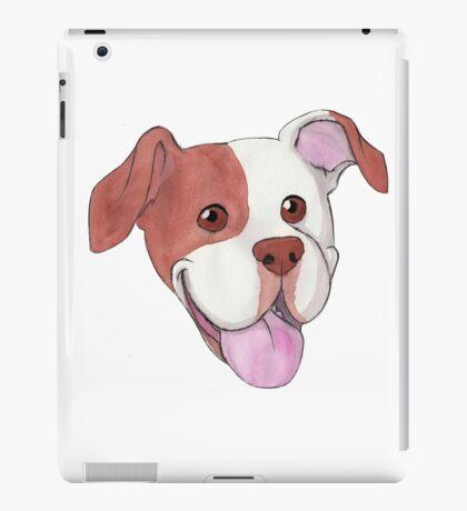 Happy Pit Bull iPad Case/Skin