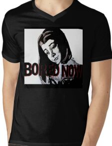 Bored now vampire Willow Mens V-Neck T-Shirt