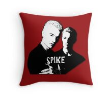 William the Bloody/Spike Throw Pillow