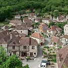 Saint Cirq Lapopie - Hill top village - France by DPalmer