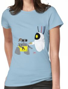 Crossover 9 - CHELL-E Womens Fitted T-Shirt