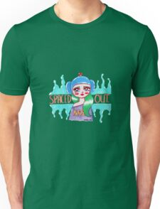 Spaced Out Girl Unisex T-Shirt