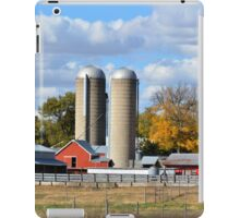 Autumn Elk Farm iPad Case/Skin